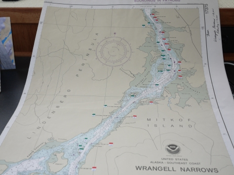 wrangell  narrows map