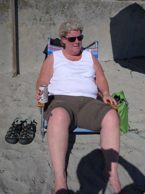 Bonnie at the beach - Copy