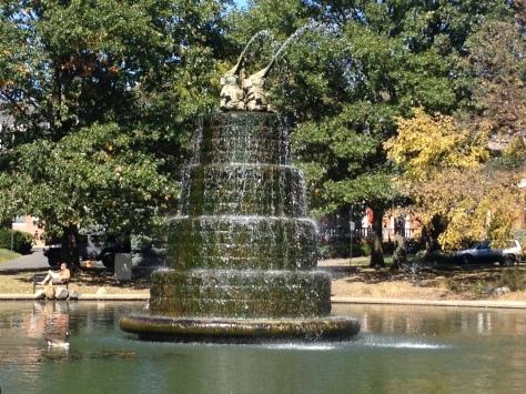 elelphant fountain