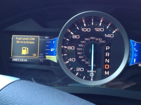 fuel warning